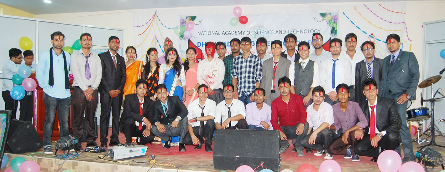 Farewell of Civil Students - NAST