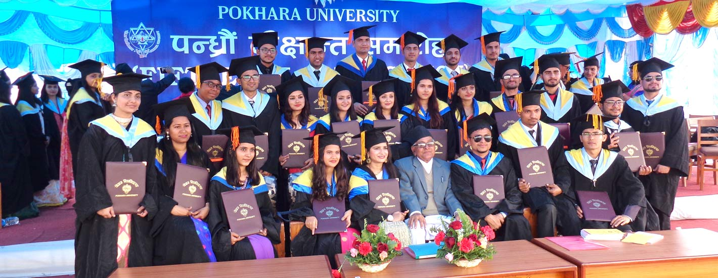 Graduates of NAST in Convocation Ceremony, PU